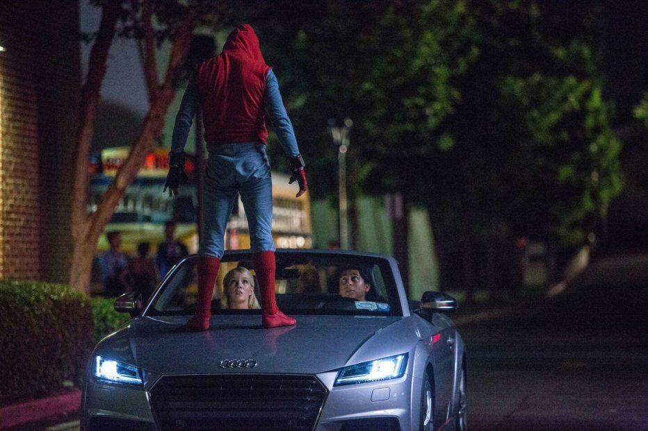 Audi løfter sløret for ny bil via Spider-Man: Homecoming