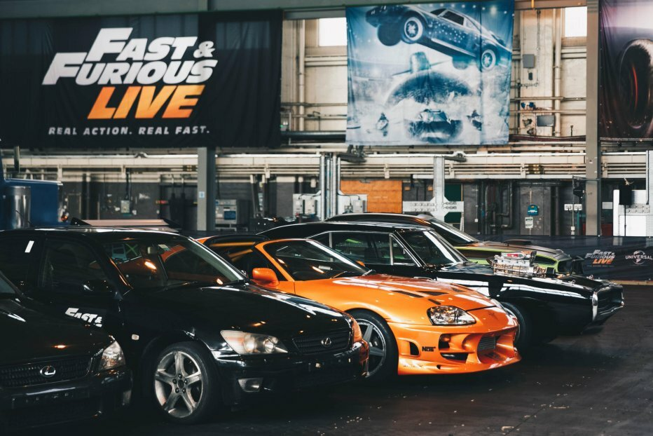 Fast and Furious Live rammer Danmark