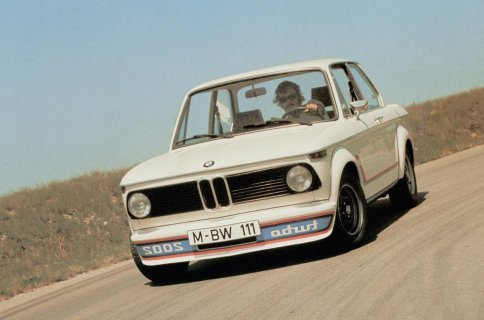 Klassiske biler - BMW 2002 Turbo