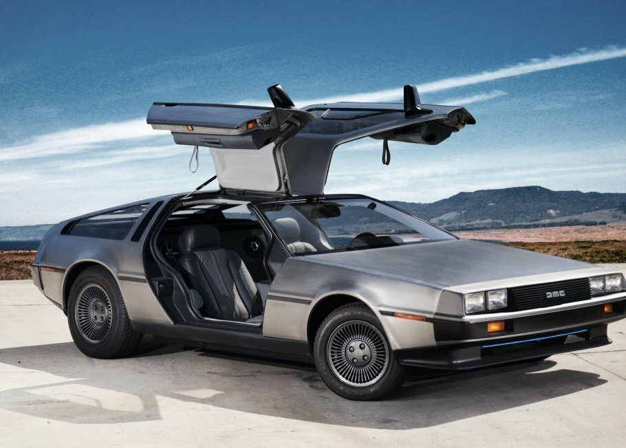 DeLorean er begyndt at reklamere for de nye DMC-12'ere